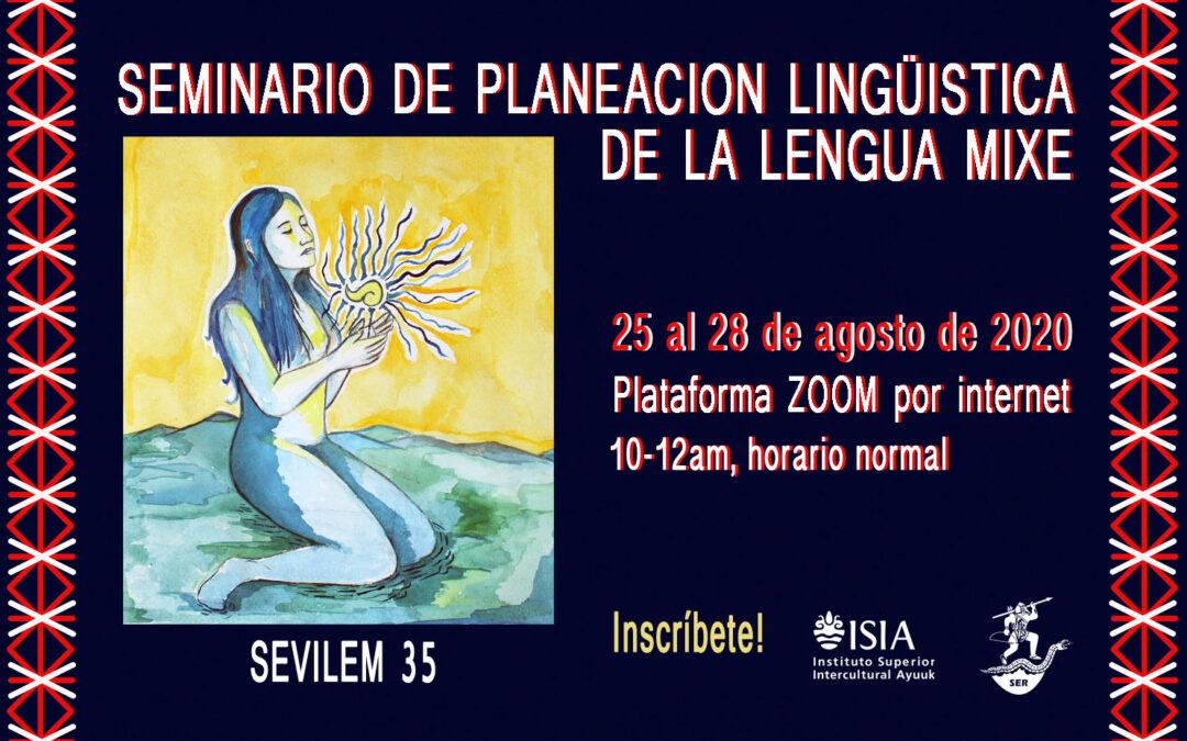 Seminario de Planificación Lingüística de la Lengua Mixe