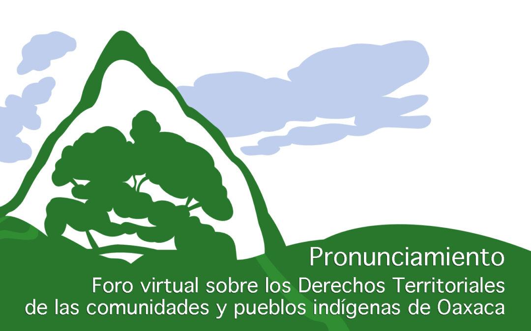 Inaplazable legislar para la protección integral de la Tierra y el Territorio en Oaxaca
