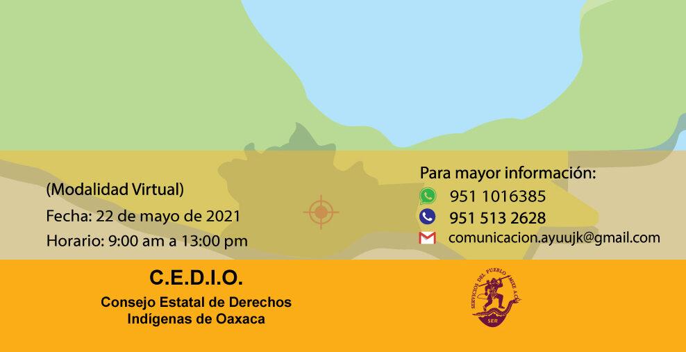 Convocan al Foro Estatal de consulta, consenso y aprobación del proyecto de iniciativa de Reforma a la Constitución Política del Estado de Oaxaca, en materia del derecho de los pueblos indígenas y afromexicano a la tierra, territorio y bienes naturales.